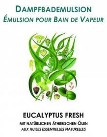 Dampfbademulsion Eucalyptus 5 lt