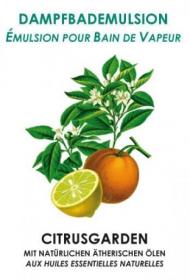 Dampfbademulsion Citrusgarden 10 lt