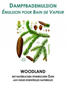 Dampfbademulsion Woodland 1 lt