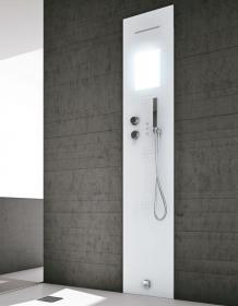 Rigenera Dampfgenerator mit Duschsäule für Einbau