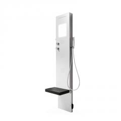 Rigenera Dampfgenerator mit Duschsäule Corian®