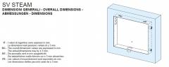 Einbaurahmen für alle SV Steam Dampfgeneratoren