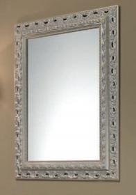 Spiegel mit Stilrahmen weiss Lackiert 73,5x93,5 cm