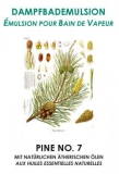 Dampfbademulsion Pine No.7 1 lt