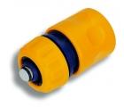 Schnellkupplung Wasserstopp für Wasserschlauch 13 mm